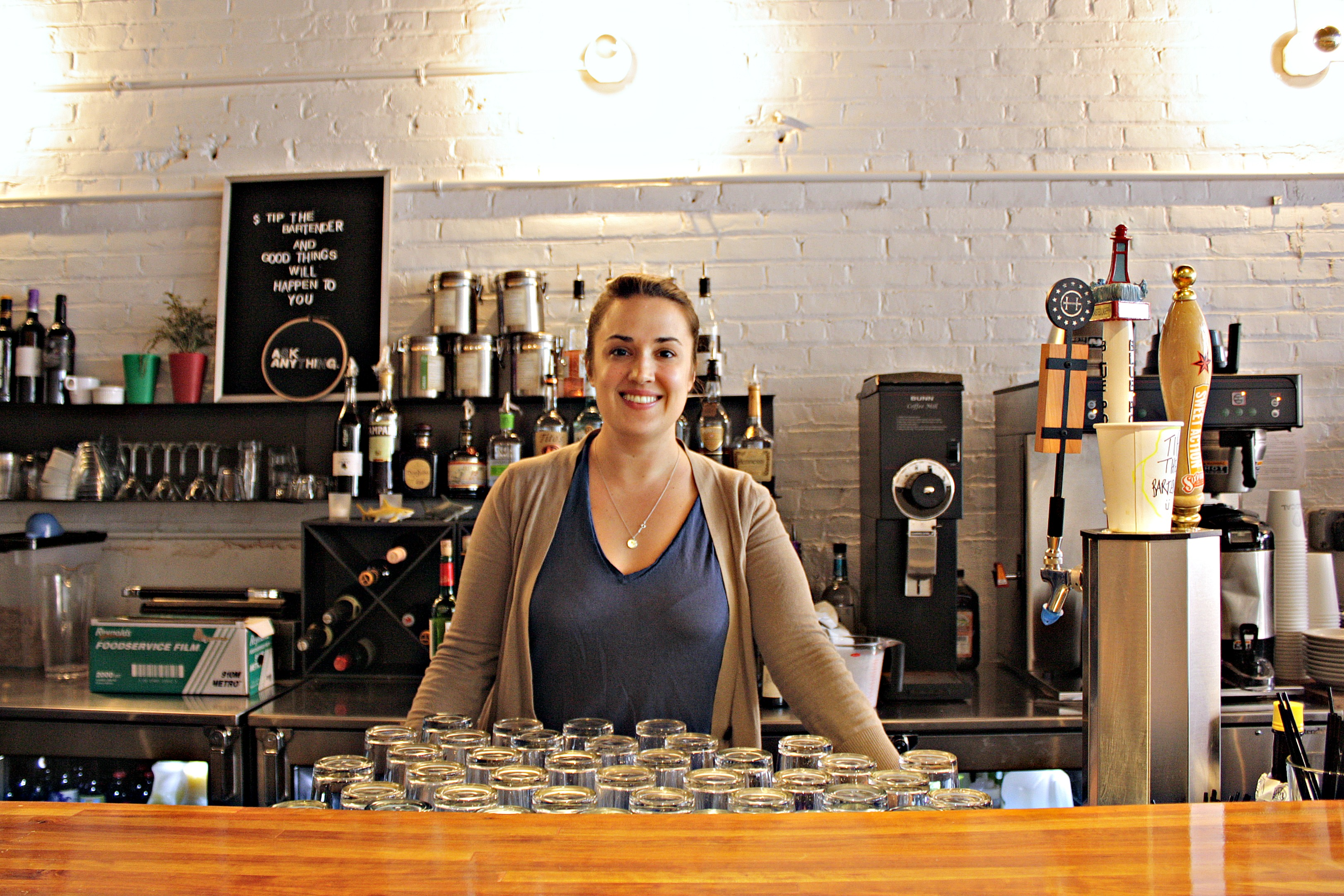 Lauren, co-owner of The Local NY in Long Island City, Queens