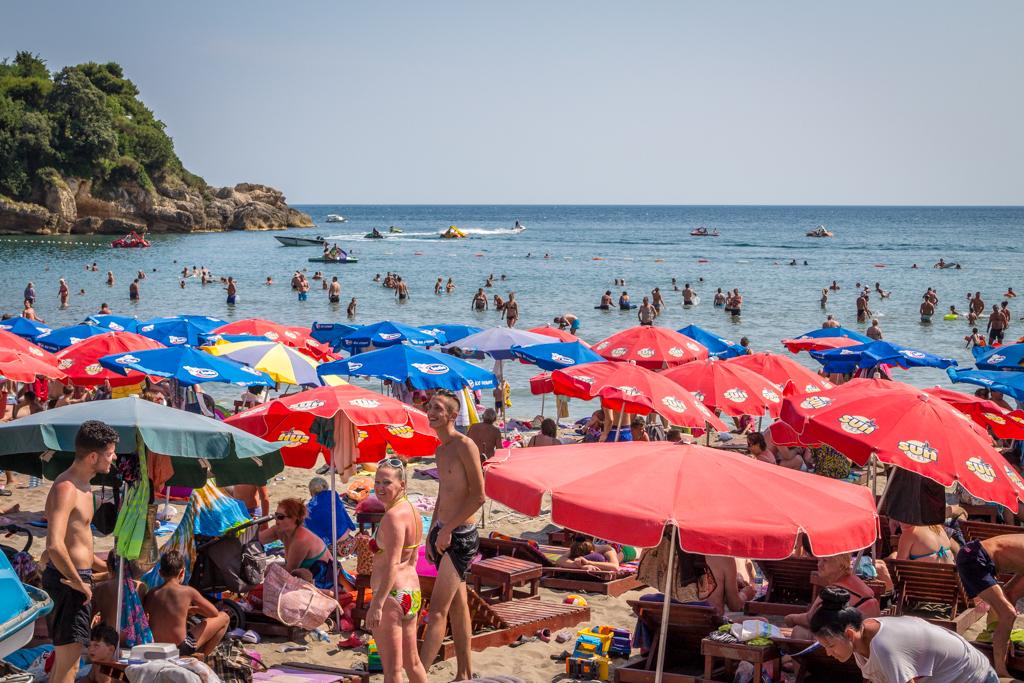 Little Beach, Ulcinj, Montenegro