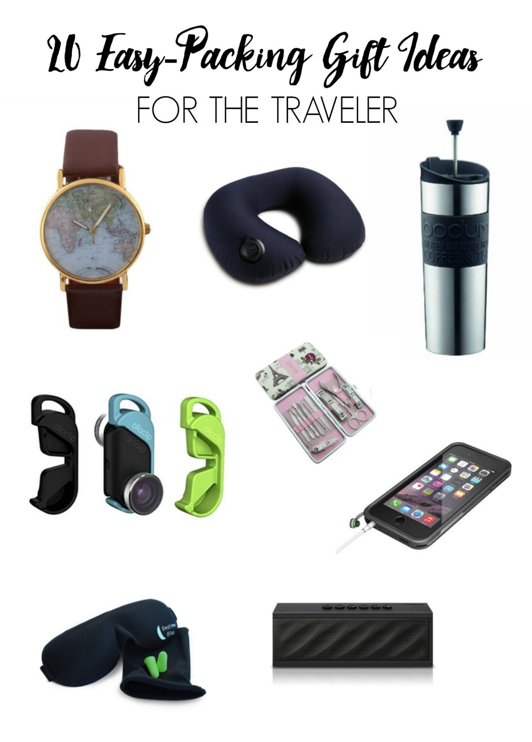 20 easy packing gift ideas for the traveler in your life for Good gifts for a traveler