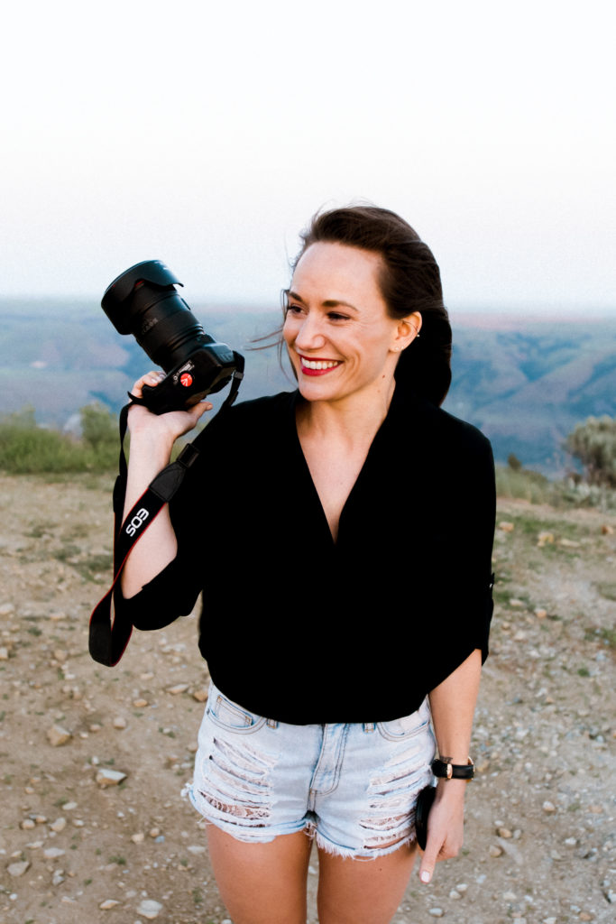 My Canon Rebel SL1 and 24-70mm f/2.8 are my go-to camera and lens as a travel blogging digital nomad!