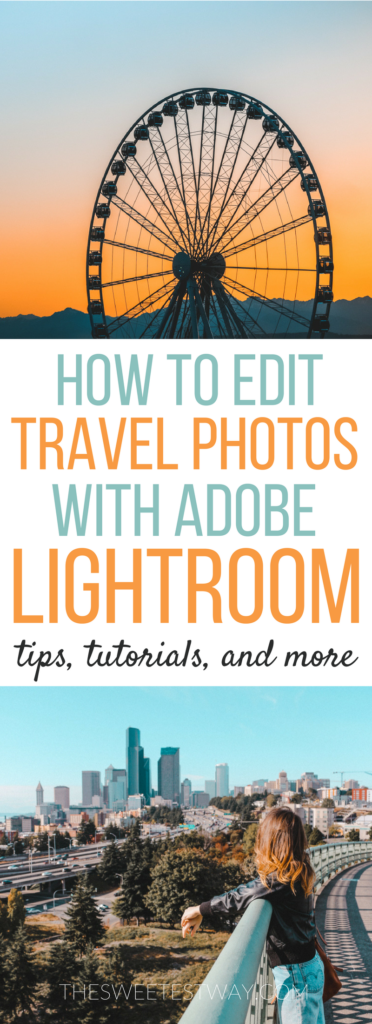Tips, tricks, and tutorials to help you edit amazing travel photos with Lightroom. #travelphotography #photoediting