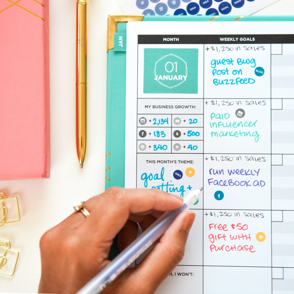 The Content Planner: A Powerful tool for bloggers and creatives