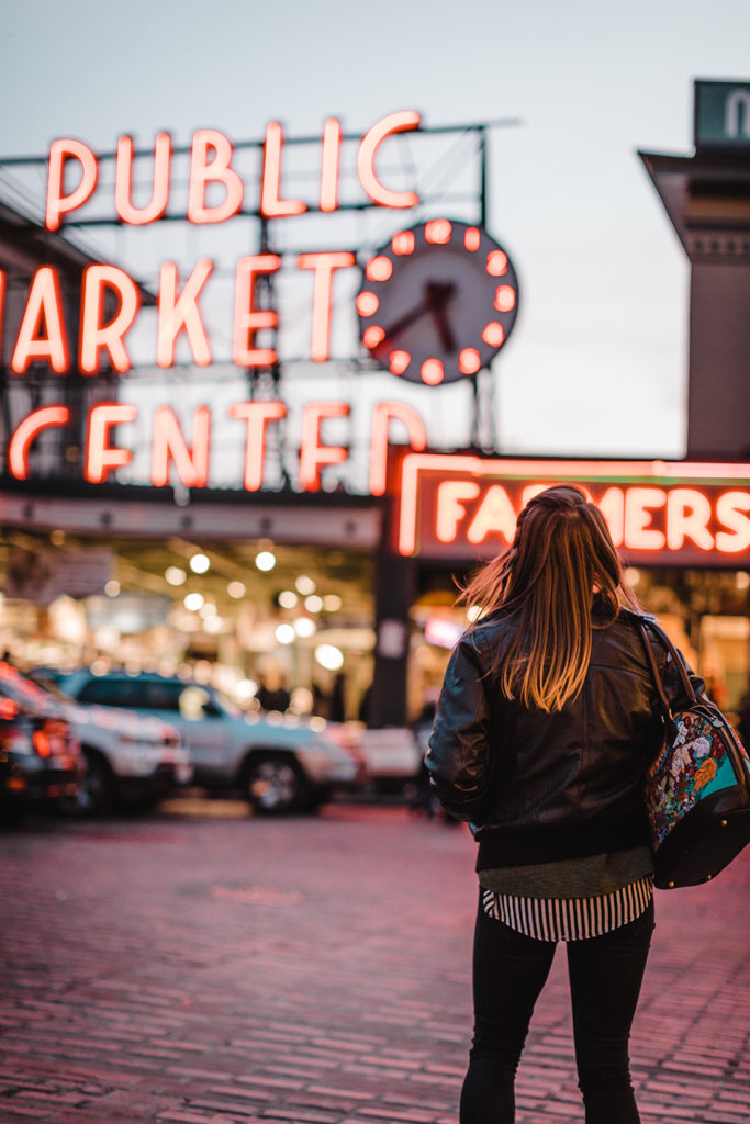 Two days in Seattle: Visiting Pike Place Market