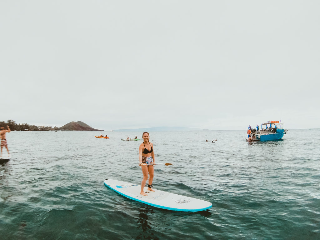 Maui Stand Up Paddle Boarding Tour at Makena Landing Park