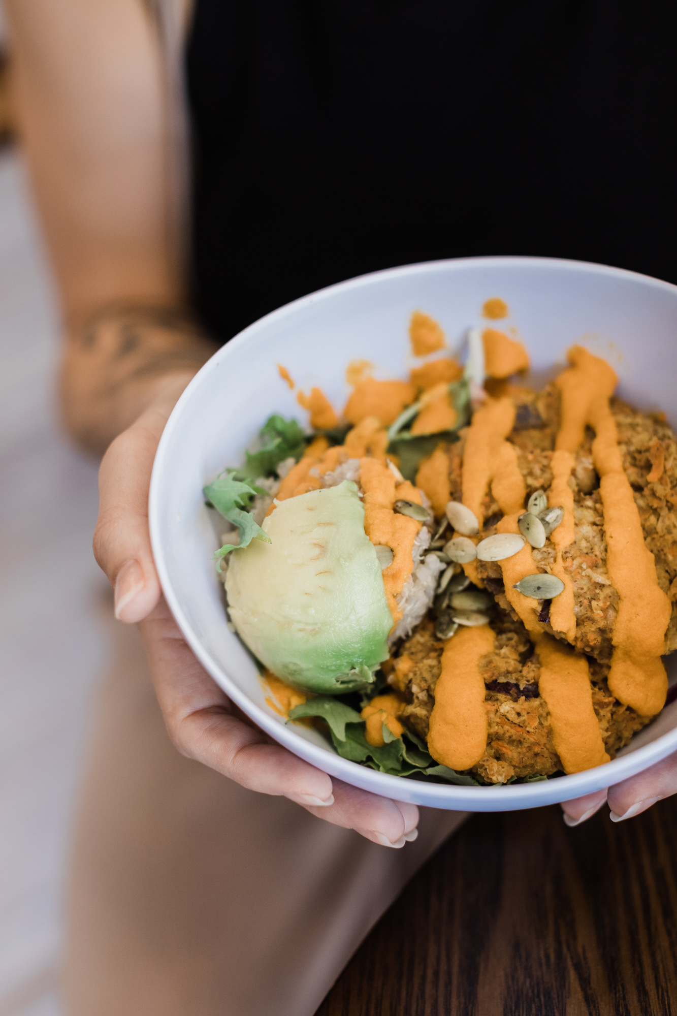 Vegan Buddha Bowl at That's A Wrap Cafe, Kihei Maui