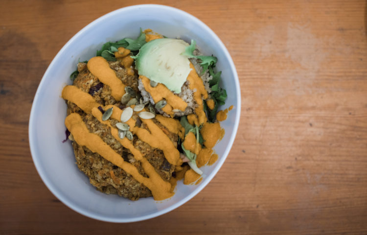 Fresh, healthy food in Kihei, Maui at That's A Wrap Cafe